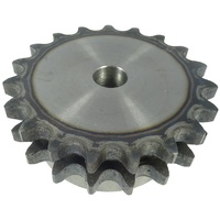 06B-2-19 3/8'/BS/20 TEETH 06B-2 Sprocket Pilot Bore Duplex HT
