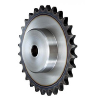 "25B25 1/4""/AS/25 TEETH 25-1 Sprocket Pilot Bore HT"
