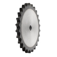 "40A28 1/2""/AS/28 TEETH 40-1 Plate Wheel Pilot Bore HT"