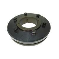 F120F Tyre Coupling Flange Taper Fit F to suit 3525 bush - F Flange bush goes in from Front or inside