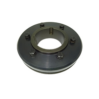 F160H Tyre Coupling Flange Taper Fit H to suit 4030 bush - H Flange bush goes in from hub side or outside