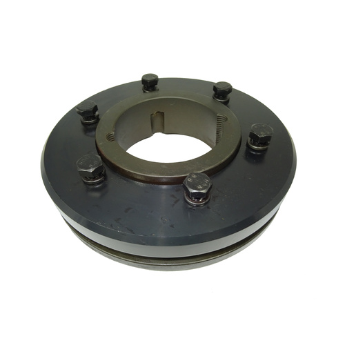 F110F Tyre Coupling Flange Taper Fit F to suit 3020 bush - F Flange bush goes in from Front or inside